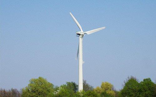Windrad - erneuerbare Energie