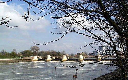 Wasserkraftwerk in Bremen